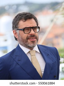"""CANNES, FRANCE - MAY 14, 2016: Actor Jemaine Clement at the photocall """"The BFG"""" at the 69th Festival de Cannes."""