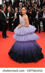 """CANNES, FRANCE. May 14, 2019: Araya Hargate at the gala premiere for """"The Dead Don't Die"""" at the Festival de Cannes.Picture: Paul Smith / Featureflash"""