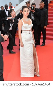 """CANNES, FRANCE. May 14, 2019: Selena Gomez at the gala premiere for """"The Dead Don't Die"""" at the Festival de Cannes.Picture: Paul Smith / Featureflash"""