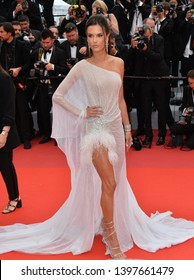 """CANNES, FRANCE. May 14, 2019: Alessandra Ambrosio  at the gala premiere for """"The Dead Don't Die"""" at the Festival de Cannes.Picture: Paul Smith / Featureflash"""