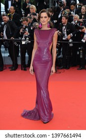 "CANNES, FRANCE. May 14, 2019: Izabel Goulart  at the gala premiere for ""The Dead Don't Die"" at the Festival de Cannes.