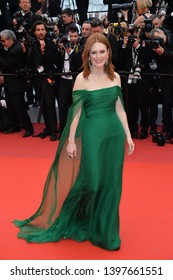 """CANNES, FRANCE. May 14, 2019: Julianne Moore at the gala premiere for """"The Dead Don't Die"""" at the Festival de Cannes.Picture: Paul Smith / Featureflash"""