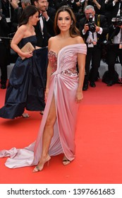 "CANNES, FRANCE. May 14, 2019: Eva Longoria  at the gala premiere for ""The Dead Don't Die"" at the Festival de Cannes.