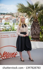 CANNES, FRANCE - MAY 14, 2019: Jury Member Elle Fanning attends the Jury photocall during the 72nd annual Cannes Film Festival