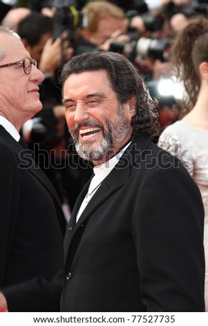 47877579d CANNES, FRANCE - MAY 14: Actor Ian McShane attends the 'Pirates of the  Caribbean: On Stranger Tides' premiere at the Palais during the 64th Cannes  Film ...
