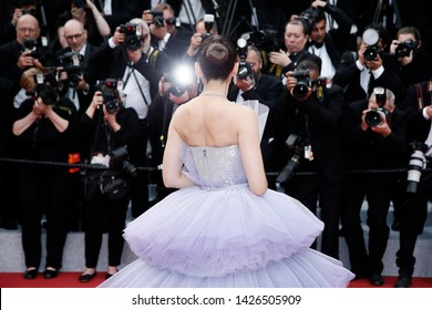 CANNES, FRANCE - MAY 14: Araya Hargate attends the opening ceremony during the 72nd Cannes Film Festival on May 14, 2019 in Cannes, France.