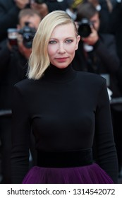 CANNES, FRANCE - MAY 14:  Cate Blanchett attends the screening of BlacKkKlansman during the 71st Cannes Film Festival at Palais des Festivals on May 14, 2018 in Cannes, France.