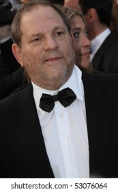 CANNES, FRANCE - MAY 14: Harvey Weinstein   attends the  'Wall Street: Money Never Sleeps' held at the Palais during the 63rd   Cannes Film Festival on May 14, 2010 in Cannes, France.