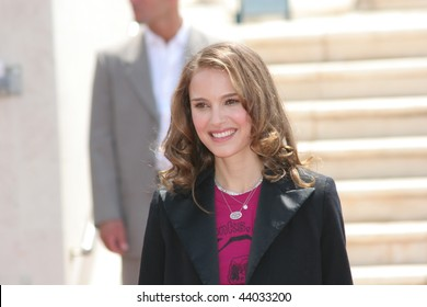 CANNES, FRANCE - MAY 14: Juror Natalie Portman attends the Jury photocall during the 61st Cannes International Film Festival on May 14, 2008 in Cannes, France