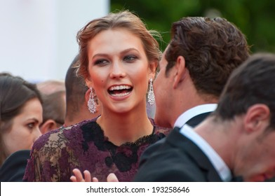 CANNES, FRANCE - MAY 14: Karlie Kloss attends the opening ceremony and 'Grace of Monaco' premiere at the 67th Annual Cannes Film Festival on May 14, 2014 in Cannes, France.
