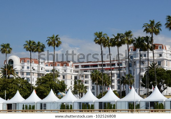 Cannes France May 14 Majestic Barriere Stock Photo (Edit Now) 102526808