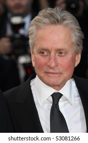 CANNES, FRANCE - MAY 14: Michael Douglas attends the Premiere of 'Wall Street 2' held at the Palais des Festivals during the 63rd  Cannes Film Festival on May 14, 2010 in Cannes, France