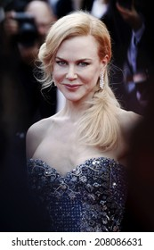 CANNES, FRANCE - MAY 14: Nicole Kidman attends the 'Grace of Monaco' premiere during the 67th Annual Cannes Film Festival on May 14, 2014 in Cannes, France.