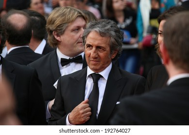 CANNES, FRANCE - MAY 14:  Richard Anconina attends the opening ceremony and 'Grace of Monaco' premiere at the 67th Annual Cannes Film Festival on May 14, 2014 in Cannes, France.