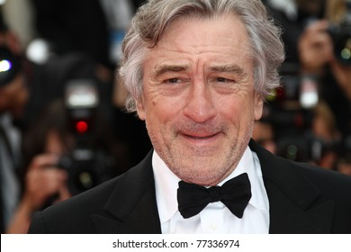 CANNES, FRANCE - MAY 14: Robert De Niro     attends the 'Pirates of the Caribbean: On Stranger Tides' premiere during the 64 Cannes  Festival at Palais des Festivals on May 14, 2011 in Cannes, France