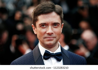 CANNES, FRANCE - MAY 14: Topher Grace attends the screening of 'BlacKkKlansman' during the 71st Cannes Film Festival on May 14, 2018 in Cannes, France.