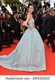 "CANNES, FRANCE. May 15, 2018: Ming Xi at the gala screening for ""Solo: A Star Wars Story"" at the 71st Festival de Cannes"