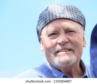 CANNES, FRANCE - MAY 15, 2018: Actor Stacy Keach attends the photocall for the 'Rendezvous With John Travolta - Gotti' during the 71st annual Cannes Film Festival