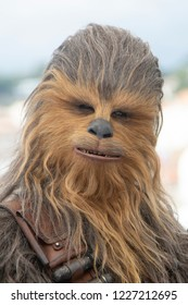Cannes, France, May 15, 2018, Chewbacca attends the photocall for 'Solo: A Star Wars Story' during the 71st annual Cannes Film Festival at Palais des Festivals.