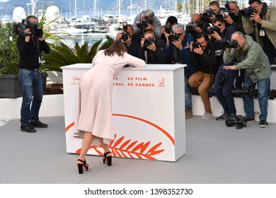 "CANNES, FRANCE. May 15, 2019: Monia Chokri  at the photocall for ""A Brother's Love"" at the 72nd Festival de Cannes.