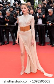 """CANNES, FRANCE. May 15, 2019: Amber Heard at the gala premiere for """"Les Miserables"""" at the Festival de Cannes.Picture: Paul Smith / Featureflash"""