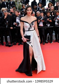 """CANNES, FRANCE. May 15, 2019: Lison di Martino at the gala premiere for """"Les Miserables"""" at the Festival de Cannes.Picture: Paul Smith / Featureflash"""