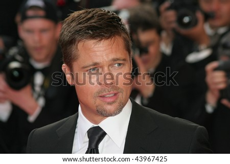 65eb33035a CANNES FRANCE MAY 15 Actor Brad Stock Photo (Edit Now) 43967425 ...