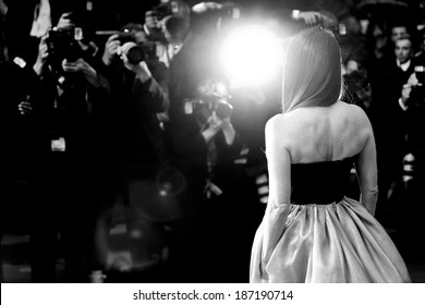 CANNES, FRANCE - MAY 15: Actress Julianne Moore attends the Opening Ceremony at The 66th Cannes Film Festival on May 15, 2013 in Cannes, France.