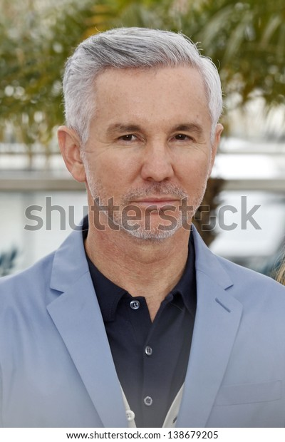 CANNES, FRANCE - MAY 15: Baz Luhrmann at the photocall for 'The Great Gatsby' at The 66th Annual Cannes Film Festival at Palais des Festivals on May 15, 2013 in Cannes, France