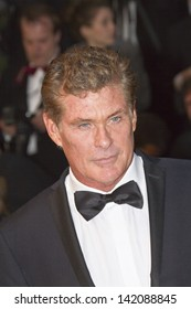 CANNES, FRANCE - MAY 15:  David Hasselhoff attends 'The Great Gatsby' Premiere during the 66th Annual Cannes Film Festival at the Theatre Lumiere on May 15, 2013 in Cannes, France.