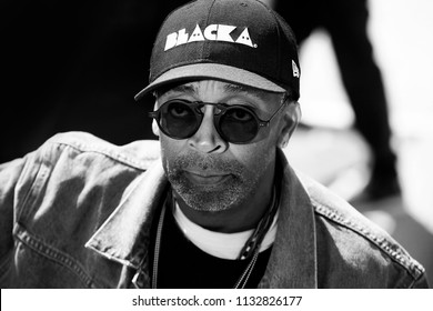 CANNES, FRANCE - MAY 15:  Director Spike Lee attends the photo-call of 'BlacKkKlansman' during the 71st Cannes Film Festival on May 15, 2018 in Cannes, France.