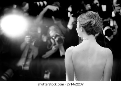 CANNES, FRANCE- MAY 15: Emma Stone attends the 'Irrational Man' Premiere during the 68th annual Cannes Film Festival on May 15, 2015 in Cannes, France.