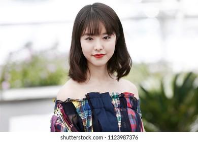 CANNES, FRANCE - MAY 15: Erika Karata attends the photo-call of 'Asako I & II (Netemo Sametemo)' during the 71st Cannes Film Festival on May 15, 2018 in Cannes, France.