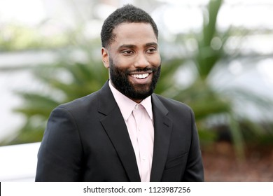 CANNES, FRANCE - MAY 15:  John David Washington attends the photo-call of 'BlacKkKlansman' during the 71st Cannes Film Festival on May 15, 2018 in Cannes, France.