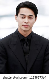 CANNES, FRANCE - MAY 15:  Masahiro Higashide attends the photo-call of 'Asako I & II (Netemo Sametemo)' during the 71st Cannes Film Festival on May 15, 2018 in Cannes, France.