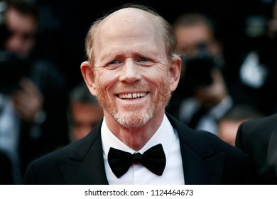 CANNES, FRANCE - MAY 15: Ron Howard attends the screening of 'Solo: A Star Wars Story' during the 71st Cannes Film Festival on May 15, 2018 in Cannes, France.