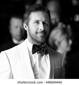 CANNES, FRANCE - MAY 15: Ryan Gosling attends 'The Nice Guys' premiere during the 69th Cannes Film Festival on May 15, 2016 in Cannes, France.