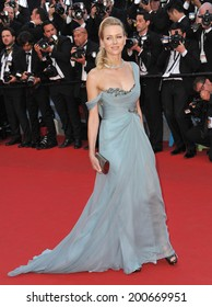 """CANNES, FRANCE - MAY 16, 2014: Naomi Watts at the gala premiere of """"How To Train Your Dragon 2"""" at the 67th Festival de Cannes."""