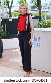 CANNES, FRANCE - MAY 16: Actress Cate Blanchett attends the 'How To Train Your Dragon 2' photocall during the 67th Annual Cannes Film Festival on May 16, 2014 in Cannes, France.