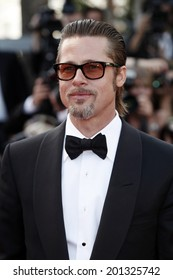 CANNES, FRANCE - MAY 16: Brad Pitt attends the 'The Tree Of Life' premiere during the 64th Cannes Film Festival on May 16, 2011 in Cannes, France.