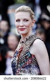 CANNES, FRANCE - MAY 16: Cate Blanchett attends the 'Dragon 2' Premiere during the 67th Cannes Film Festival on May 16, 2014 in Cannes, France.