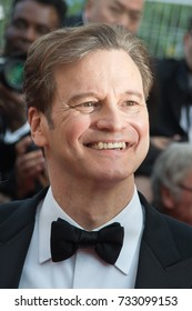 CANNES, FRANCE - MAY 16:  Colin Firth attends the 'Loving' premiere during the 69th annual Cannes Film Festival at the Palais des Festivals on May 16, 2016 in Cannes