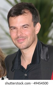 CANNES, FRANCE - MAY 16: Director Francois Ozon attends a photocall promoting the film 'Le Temps Qui Reste' at the Palais during the 58th  Cannes Film Festival May 16, 2005 in Cannes, France