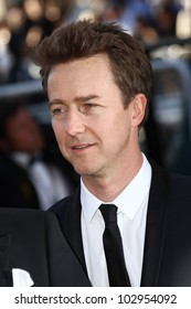 CANNES, FRANCE - MAY 16: Edward Norton attends opening ceremony and 'Moonrise Kingdom' premiere during the 65th  Cannes Film Festival at Palais  on May 16, 2012 in Cannes, France.