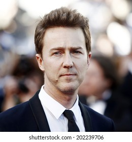 CANNES, FRANCE - MAY 16: Edward Norton attends the 'Moonrise Kingdom' premiere during the 65th Cannes Film Festival on May 16, 2012 in Cannes, France.