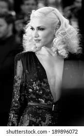 CANNES, FRANCE - MAY 16: Gwen Stefani attends 'The Tree Of Life' premiere during the 64th Cannes Film Festival on May 16, 2011 in Cannes, France.