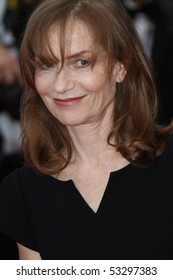 CANNES, FRANCE - MAY 16: Isabelle Huppert attends 'The Princess Of Montpensier' Premiere at the Palais des Festivals during the 63rd  Cannes Film Festival on May 16, 2010 in Cannes, France