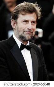 CANNES, FRANCE- MAY 16: Nanni Moretti attends the 'My Mother' premiere during the 68th Cannes Film Festival on May 16, 2015 in Cannes, France.