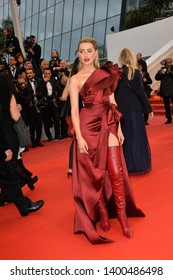 """CANNES, FRANCE. May 17, 2019: Amber Heard at the gala premiere for """"Pain and Glory"""" at the Festival de Cannes.Picture: Paul Smith / Featureflash"""