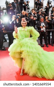"CANNES, FRANCE - MAY 17, 2019: Deepika Padukone attends the screening of ""Pain And Glory (Dolor Y Gloria/Douleur Et Gloire)"" during the 72nd annual Cannes Film Festival"